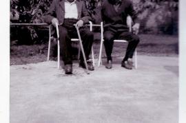 1950er Hr. Schneemaer, Hr. Mayer 13PI
