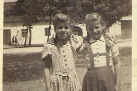 1950er I.Zechmeister mit Freundin G.Druschler 14PA