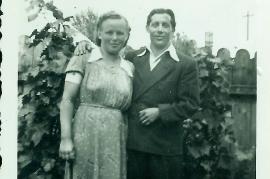 1950er Frieda Fischer, Johann Fischer 17DEM