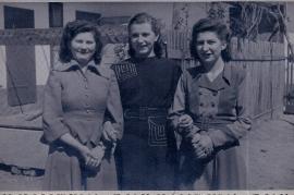 1949 Fr. Muth (Hauptmann), Grete Niedermaier, Herta Ebner 17HJ