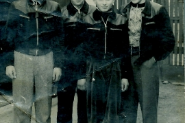 1950er Freunde mit dem Lederjoschi 23RW
