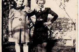 1950er Gertrude Schreiner, Grete Weiß (Mühlgasse) 34SL