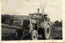 1950er Hanomag Traktor 67PM