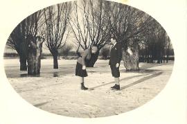 1950er Am Eis  bei der Götzmühle 69PM