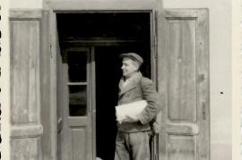 1950er Bäckermeister R. Weiss, obere Hauptstraße. 42 71WB