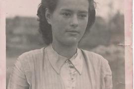 1950 Frida Schusterreiter  Foto J.Prath 73SG