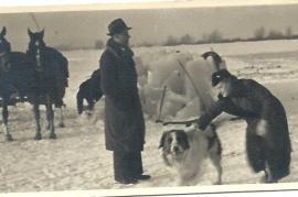 1950 Eishacken bei der Mühle