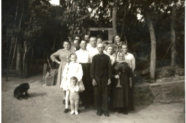 1950er Familienbild A165