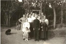 1950er Familienfoto 4AM