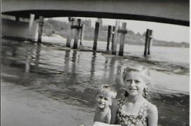 1957 Gitti Hofbauer Deutsch Jahrndorferstraße Brücke 11HWB