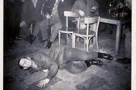 1960er h.l. M. Pamer, J. Meixner, A. Schmelzer (Öfa), vorne F. Schicker 12RM