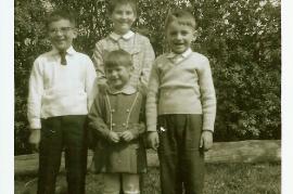 1960er Hr. Hiermann, M. Hiermann, C. Hiermann, J. Fischer 28FR