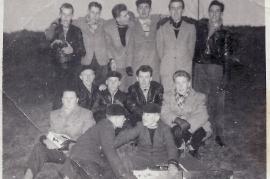 1960er 1.R. W. Amri, M. Hoffmann, W. Pamer, 2.R. J. Kiesler, P. Schmidt, H. Hauptmann, D. Lang, 3.R. F. Hauptmann, A. Siebenstich, Hr. Nicko, M. Kellermann, P. Pamer, Bilo Hiermann 3KP