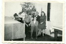 1957 Weihnachten Fam. Kirschner 41HW