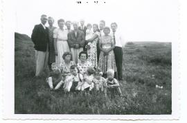 1956 Fam. Rauscher und Fam. Schusterreiter 42HW