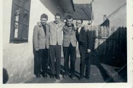 1958 A. (Xandl) Rosner, Gerhard, W. Ranitsch. Blitz Stromer 6RW