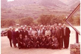 1960er Ausflug M.Pamer, J.Hafner, J.Zechmeister, P.Meixner, M.Pschaiden, M.Bauhofer, P.Toth, M.Meixner, M.Pamer, E.Zechmeister, Th. Meiner, M.Roth, E.Pamer, A.Pamer, 8ZJ