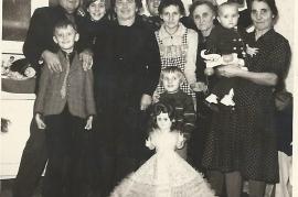 1960 Feier bei Toth Maria