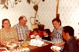 1979 Dürr Karoline, Mathias, Helli Simonich