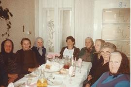 1984 2SG Damenrunde 60er Fr. Hoszank