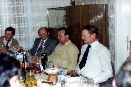 1980er v.l. L. Hiermann, St. Steiner, J. Steiner, J. Hafner 34HR