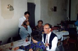 1980er h. J. Harmat, Fam. Kieszler vorne Grete u. Otto Thaller 35HR