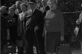 1974 Ausflug l. Fr. Michitsch, M. Rechnitzer, Hr. Resch, Fr. Jegesch,  Hr. Hiermann (Stigitzer), Hr. Haidovich, Fr. Hiermann 38FR