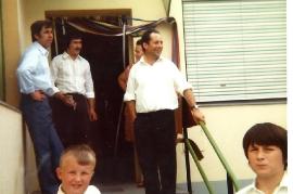 Kuhne 30 Besuch bei Fam. Fischer Johann