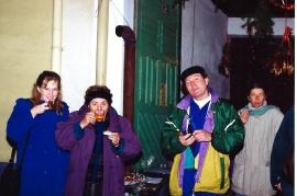 2001 G. Perschy, E. Amri, R. Böhm, T. Schmidt, ÖVP Glühwein 28ZJ