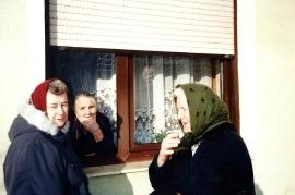 1995 Gassentratsch Kuhne Johanna, Toth Maria, Fr. Lehner