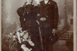 1910er Johann u. Theresia Lambert (geb. Zechmeister) Großvater v. G.Lambert 3LAG