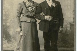 1900er unbekanntes Paar 53HW