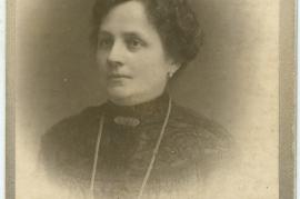 1900er unbekannte Frau 54HW