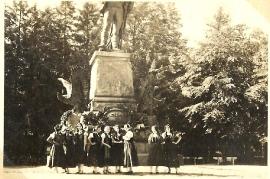 1935 Volkstanzgruppe Zurndorf in Innsbruck 147BA