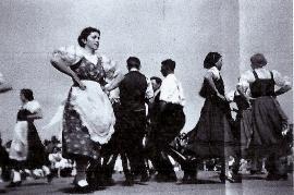 1930er Volkstanzgruppe Zurndorf 14SM