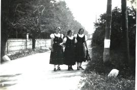 1935 Volkstanzgruppe Zurndorf in Innsbruck 150BA