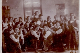 1930er Volkstanzgruppe Zurndorf 17HEI